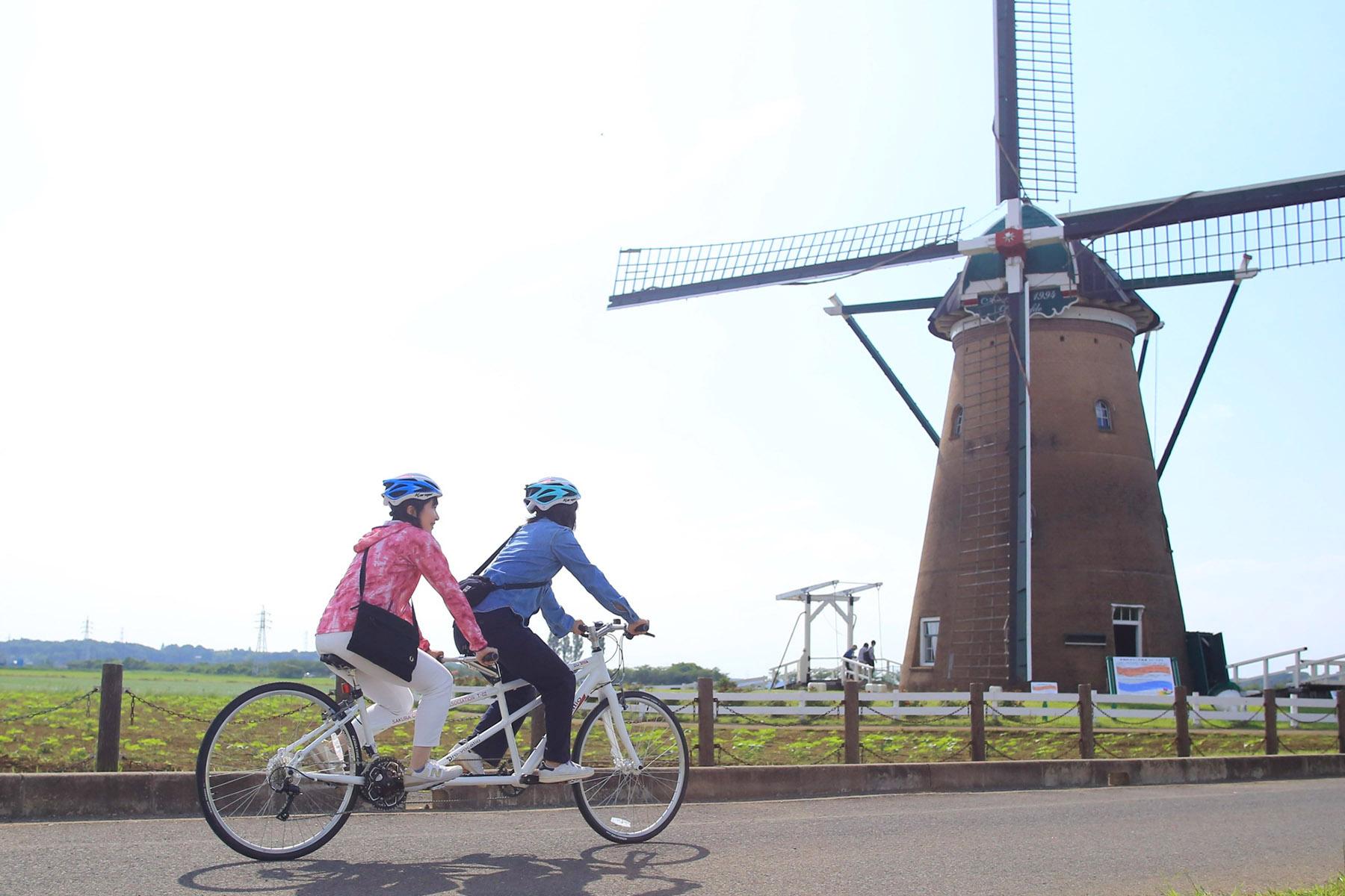 週末は印旛沼でサイクルツーリズムデビュー!? 佐倉市でタンデム自転車のレンタルがスタート!